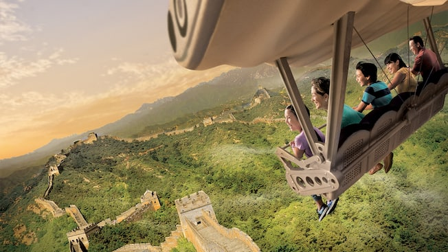 翱翔•飛越地平線 | 游樂設施 | 上海迪士尼度假區