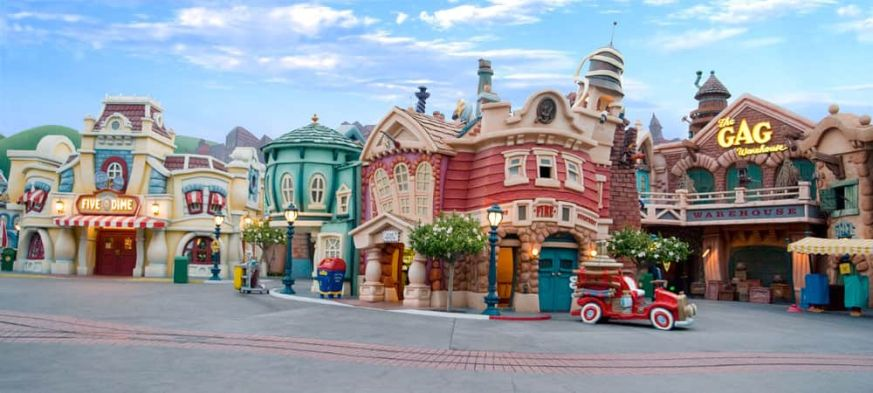 Image result for opening day toontown disneyland