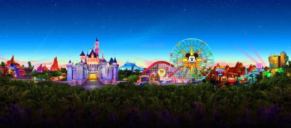 Disneyland Theme Park Tickets In Anaheim California Resort