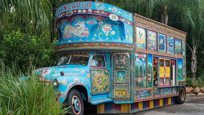 Camion de crème glacée Anandapur