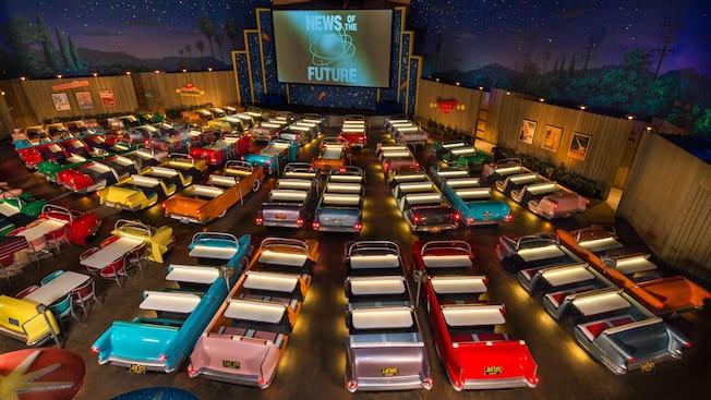 Resultado de imagen para Sci-Fi Dine-in Theater, Studios Hollywood en EEUU