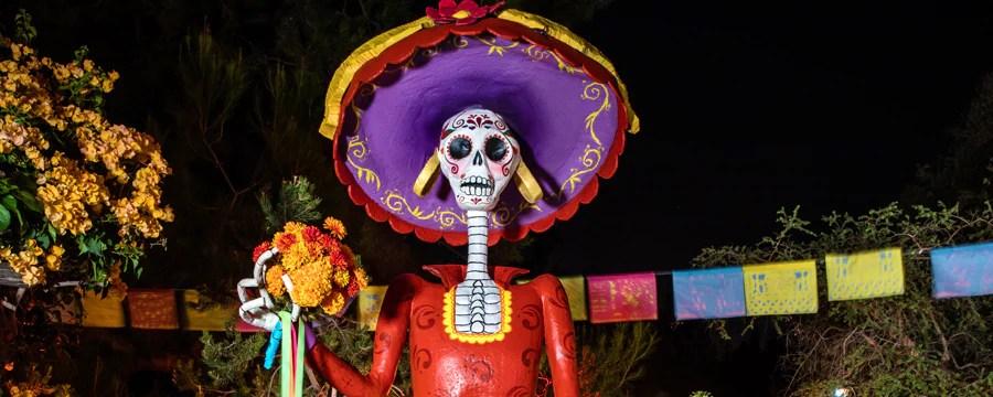 Dia De Los Muertos Halloween Time Disneyland Resort