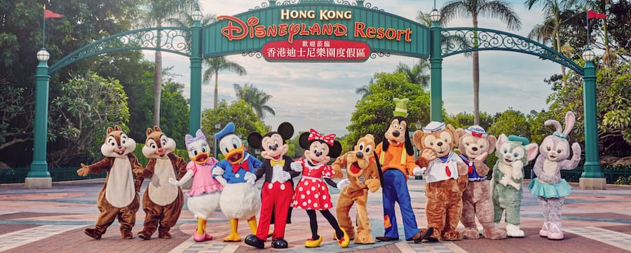 港珠澳大橋   香港迪士尼樂園