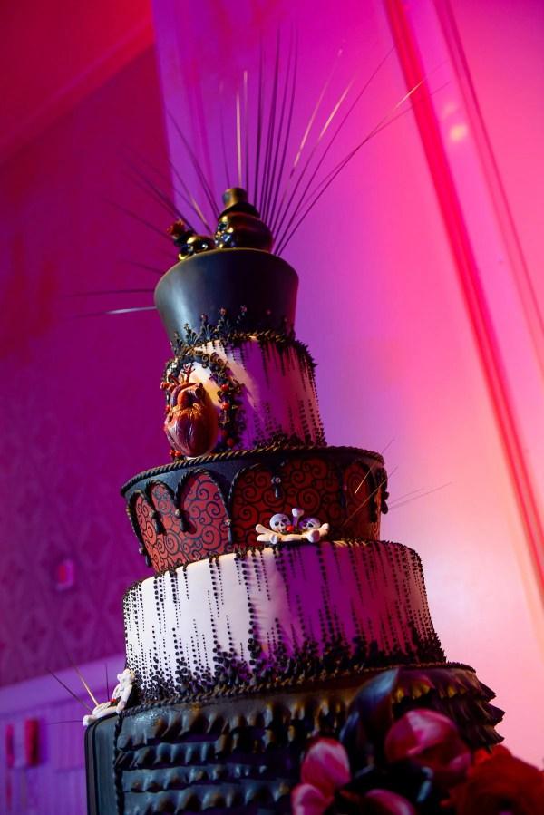 Wedding Cake Wednesday Gothic Disney Weddings