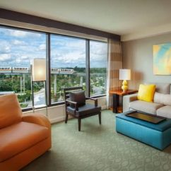 Rooms To Go Sleeper Chair With Leg Support & Points | Bay Lake Tower At Disney's Contemporary Resort Disney Vacation Club