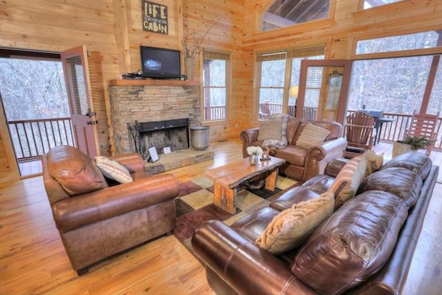 Hickory Hill  Helen Ga Cabin Rentals  Cedar Creek Cabin Rentals  Luxury Cabins