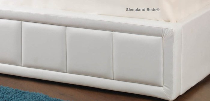 tern white ottoman bed by sweet dreams