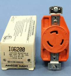 new isolated ground locking outlet twist turn receptacle 20a arrow hart ig6200 [ 3456 x 3456 Pixel ]
