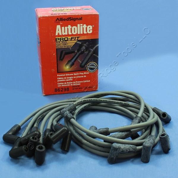 Autolite 86298 Spark Plug Wires 78-81 Monza Sunbird Starfire Camaro 5.0l V8
