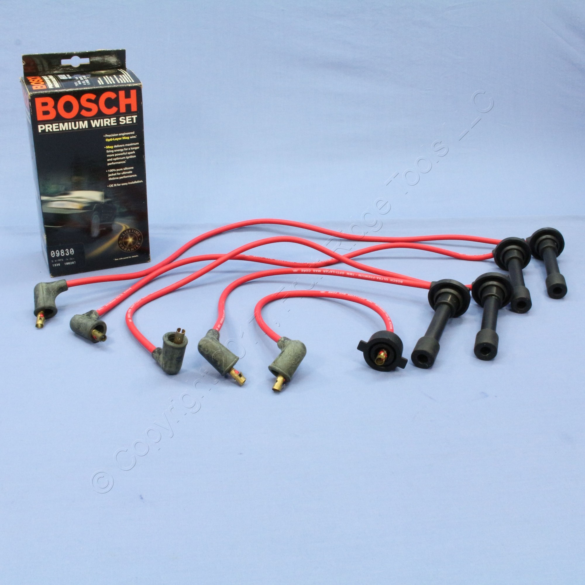 hight resolution of image is loading new bosch 09830 spark plug wire set for