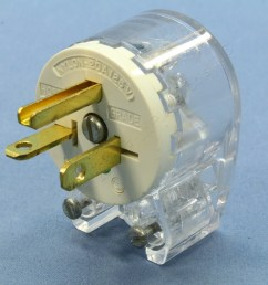 bryant clear straight blade angle connector plug 12 position 5 20p cooper wiring angle extension cord replacement plug ebay [ 3456 x 3456 Pixel ]
