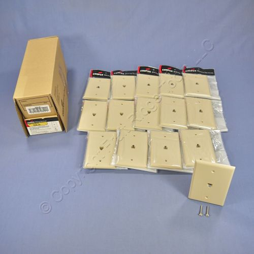 small resolution of 15 cooper ivory mid size flush mount 4 wire telephone jack wallplates 3533 4v