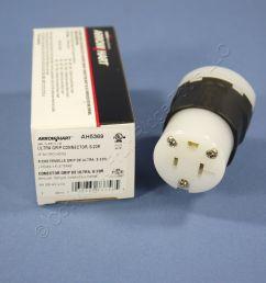 cooper ultra grip industrial straight blade connector plug nema 5 20r 20a ah5369 [ 1504 x 1504 Pixel ]