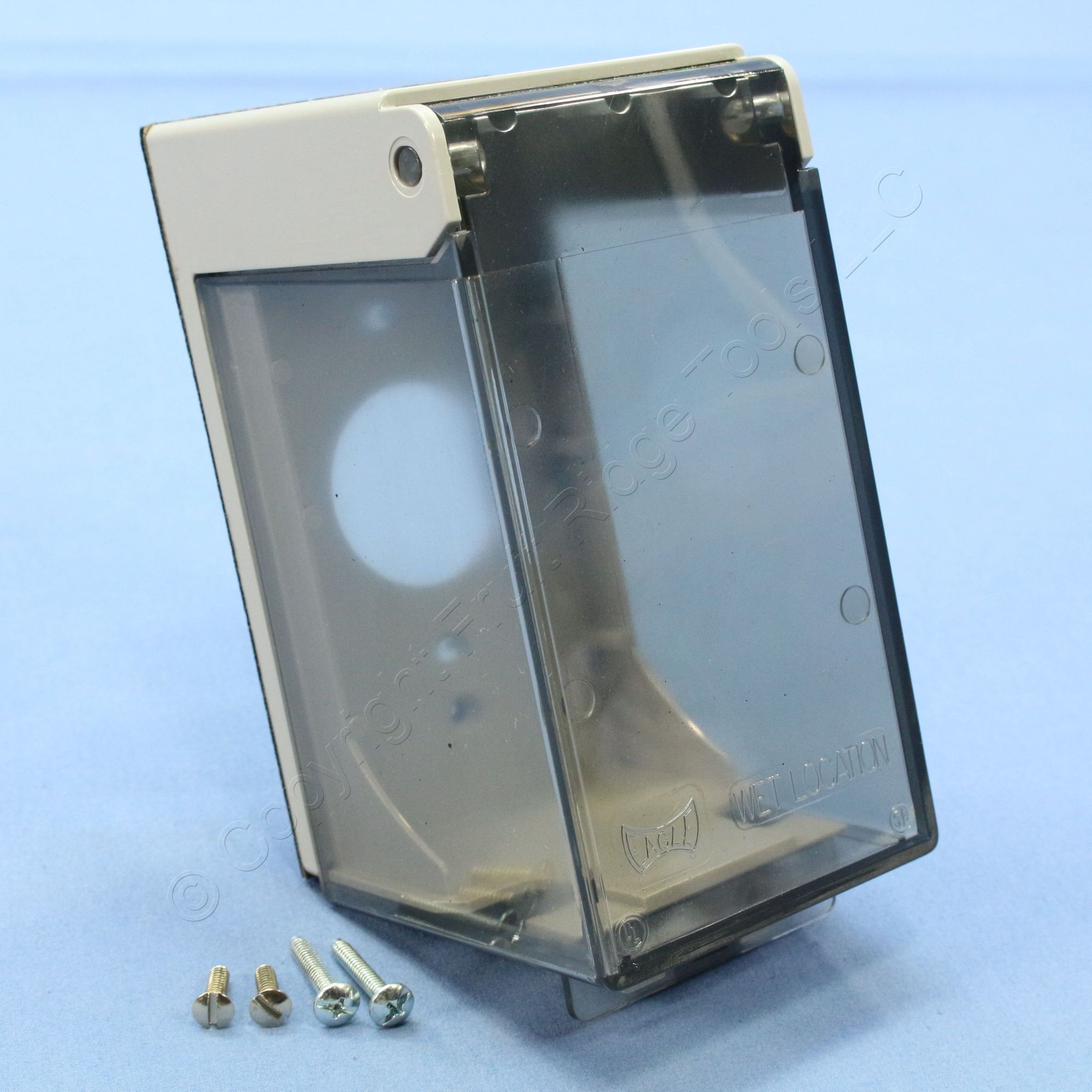 hight resolution of eagle clear 1 gang weather protective outdoor outlet receptacle cover 4961 sp