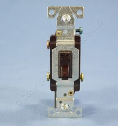 eagle brown 3 way toggle wall light switch co alr aluminum wiring 15a 5223 7b [ 1504 x 1504 Pixel ]