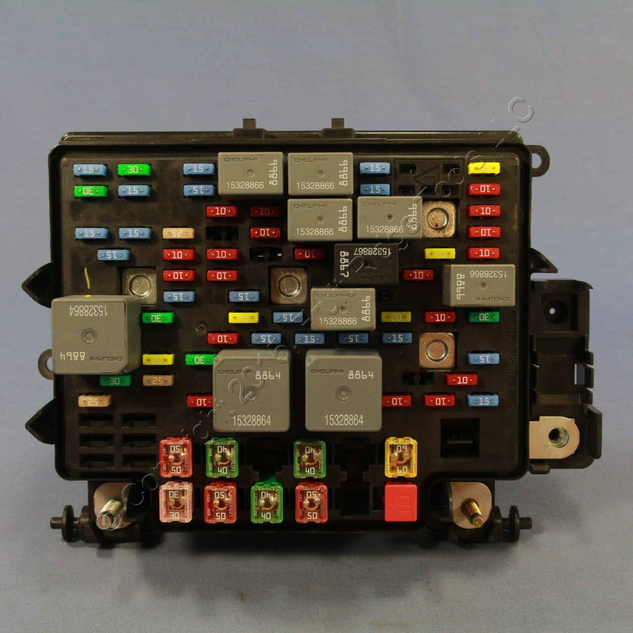 hight resolution of new gm oem fuse box junction block 15201929 03 06 tahoe suburban gm fuse box diagram