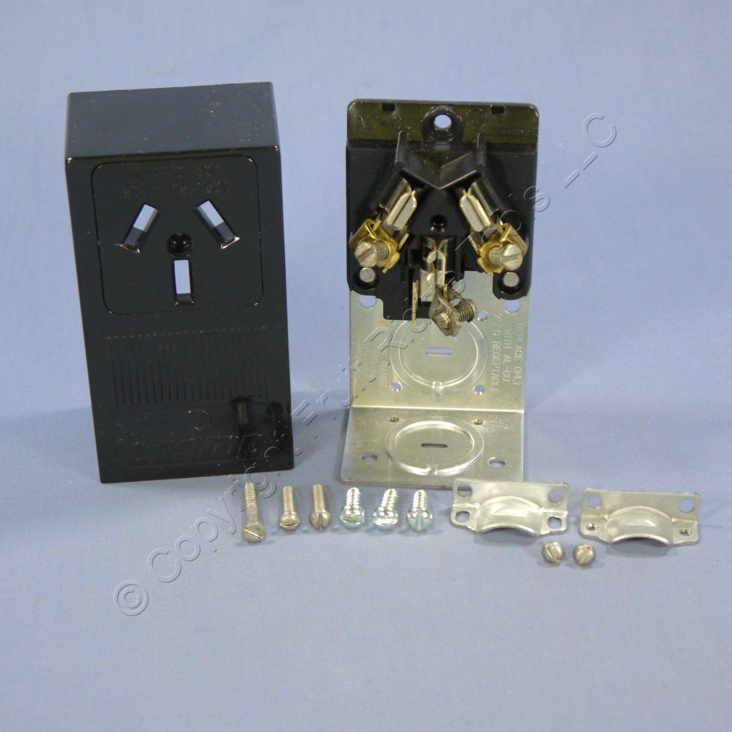 hight resolution of shop leviton range dryer 10 50 surface mount receptacle outlet nema 10