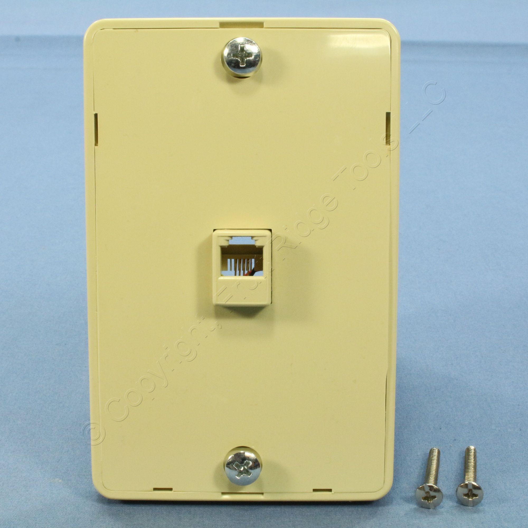 hight resolution of pass seymour ivory rj 11 wall mount phone jack 630a telephone outlet wmte14 i
