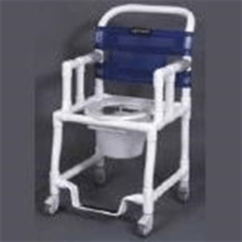 Bariatric Transport Chair 24 Seat Patio Covers Walmart Canada Pvc Rolling Shower Drop Arms - Bathroom Safety Anthros Me