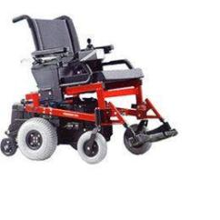 Wheelchair Base You Can Stand Up Quickie P 200 Classic Performance Power Extra Large Image