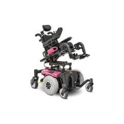 Quantum Wheelchair Heavy Duty Chair Casters Synergy Seating Power Positioning System Main Image Of