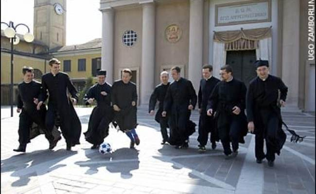 Vatican Wants To Play Priests In Serie A Telegraph