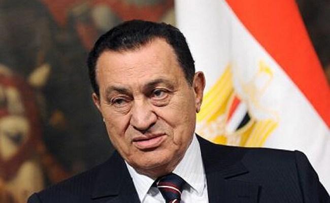 Hosni Mubarak Receiving Cancer Treatment In Saudi Arabia
