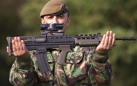 168 Guns Lost Or Stolen From Armed Forces In Three Years