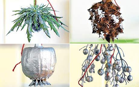 How To Make Your Own Natural Christmas Decorations