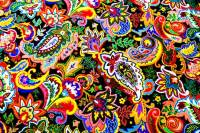 Psychedelic patterned carpets in Las Vegas casinos ...