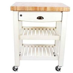 Kitchen Block On Wheels Pendant Lighting For Island Ideas Best Butchers Blocks Telegraph A Butcher S With Will Come In Handy If You Re Constantly Updating Your Layout Penbroke Trolley Antique Cream Hevea Wood