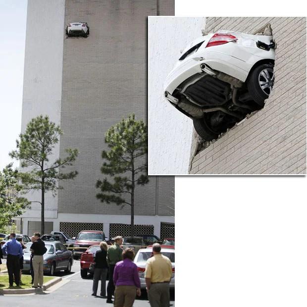 embarrassing car crashes and