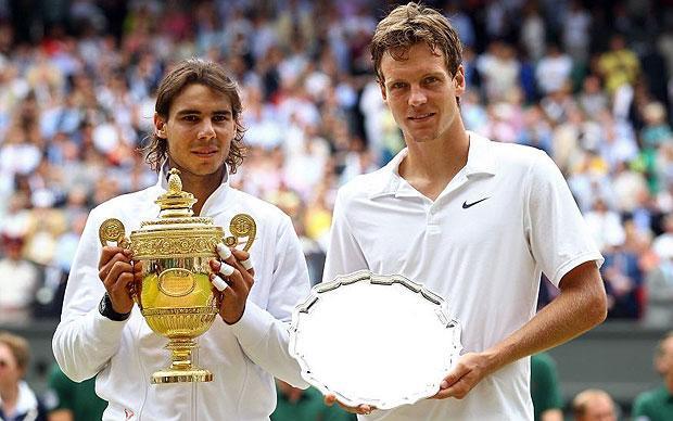 Wimbledon 2010 men's final: Rafael Nadal v Tomas Berdych - in ...