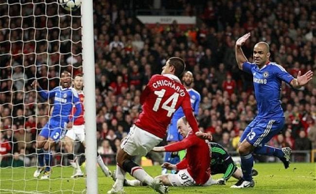 Manchester United 2 Chelsea 1 Agg 3 1 Match Report