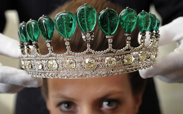 Worlds most expensive tiara sells for 78m  Telegraph