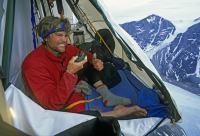 Extreme camping and rock climbing photographs by Gordon ...