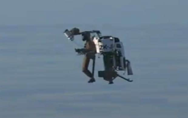 Martin Jetpack's 'jetski for the skies' to go on sale in 2012 - Telegraph