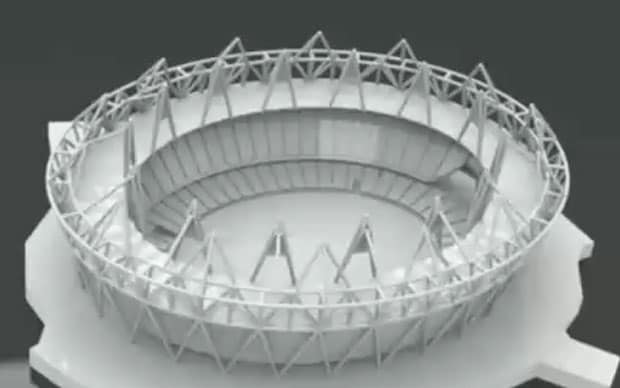 Video 3d Model Of Olympic 2012 Stadium Built In Six Hours
