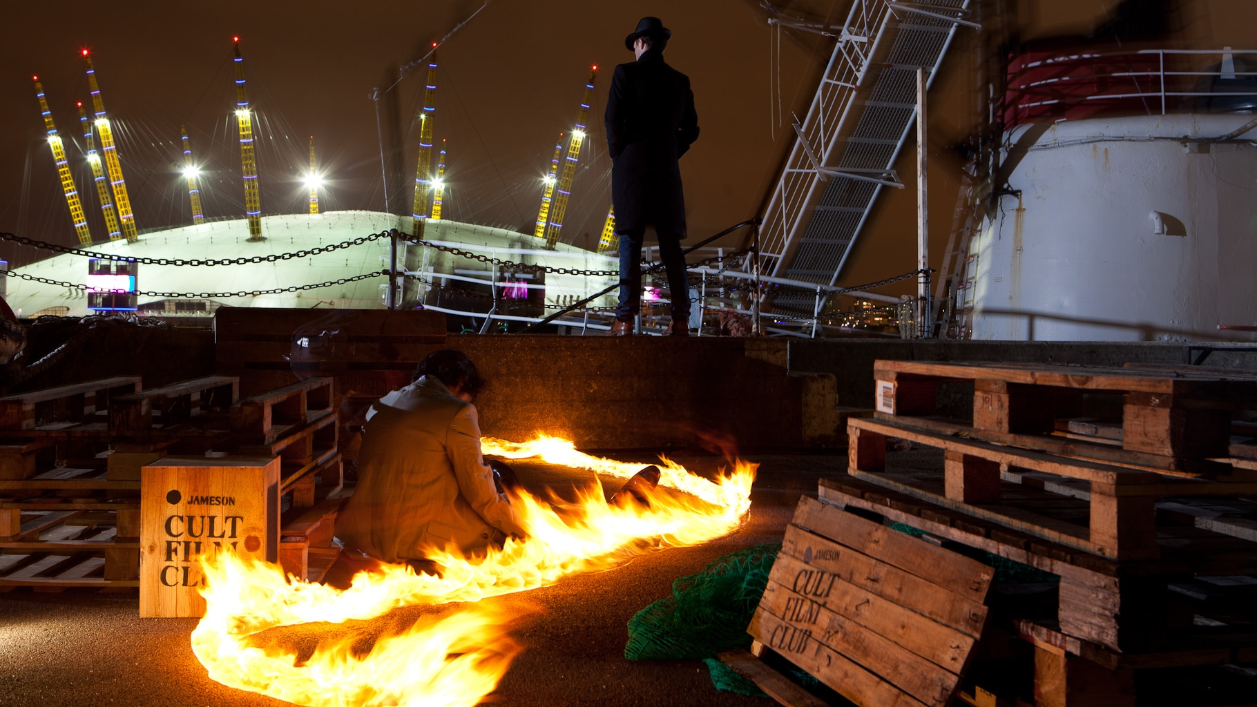Keyser Sze comes to London dock for screening of The