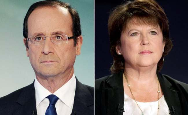 French Socialist Primaries Francois Hollande V Martine