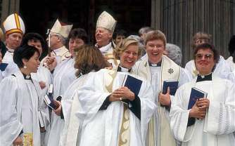 Image result for 1992 – The General Synod of the Church of England votes to allow women to become priests