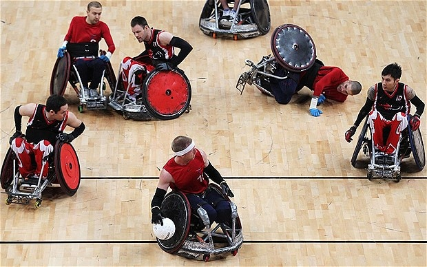 wheelchair olympics 2 chairs and table london 2012 paralympics great britain s rugby squad for paralympicsgb name games