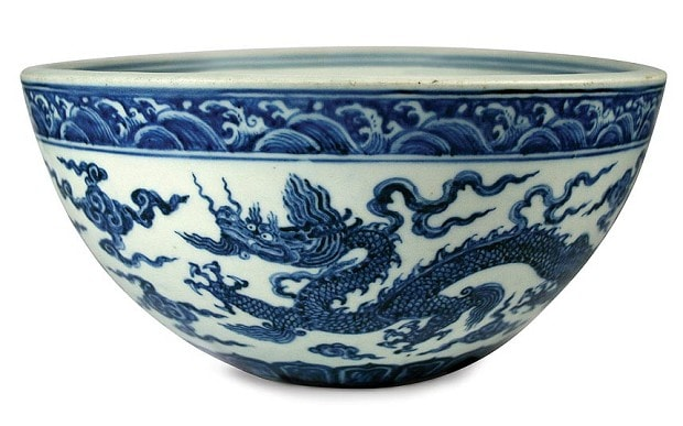 chipped chinese bowl bought