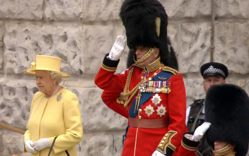 Prince Philip at Trooping the Colour only week after leaving hospital  Telegraph
