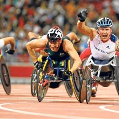 Wheelchair Olympics Yoga Ball Chair Paralympics Founder Sir Ludwig Guttmann S Legacy Celebrated In Bbc David Weir Bags Gold For Britain The 800 Metres Race At Beijing