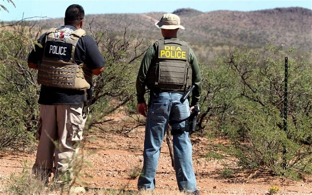 Us Agent Shot Dead On Mexican Border Telegraph