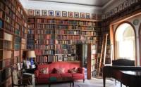English Home Library Design - Homemade Ftempo
