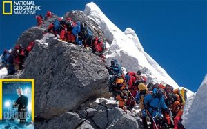 Everest Summit Line