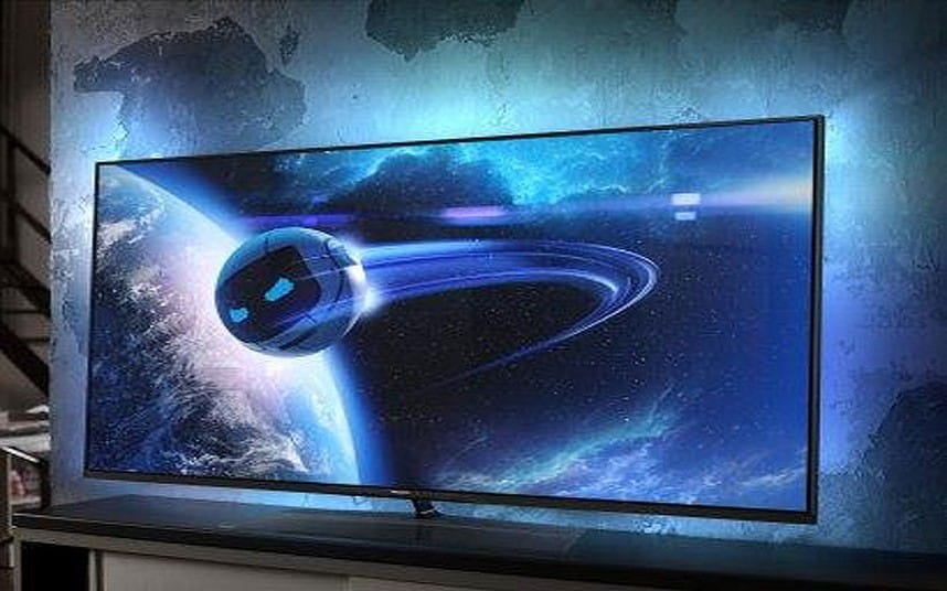 Philips TV matches your lighting to the picture  Telegraph