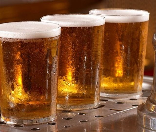 Experts Considered Recommending People Drink No More Than Around Three Pints Of Beer On Any Occasion Photo Alamy